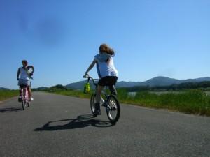 サイクリング・仁淀川